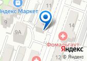 Валентин на карте