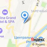 Мобильные системы Джи ЭС ЭМ на карте Сочи