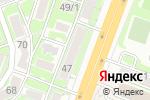 Схема проезда до компании Мир волос в Ростове-на-Дону