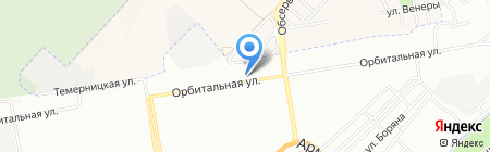 Три самурая на карте Ростова-на-Дону