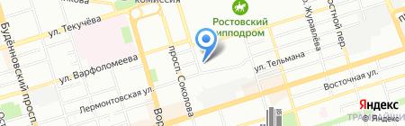 Детский сад №227 на карте Ростова-на-Дону