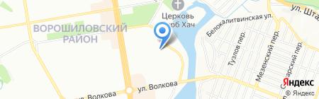 Алина на карте Ростова-на-Дону