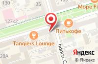 Схема проезда до компании Пегас в Ростове-На-Дону
