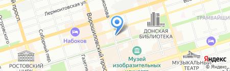 КРОНА-АйТи на карте Ростова-на-Дону