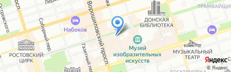 ЮРТА на карте Ростова-на-Дону