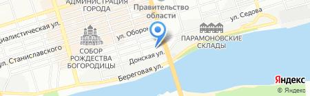 Банкомат ГазПромБанк на карте Ростова-на-Дону