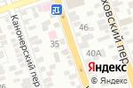 Схема проезда до компании Сауна в Ростове-на-Дону