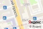 Схема проезда до компании Служба судебных приставов Кировского района в Ростове-на-Дону
