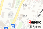 Схема проезда до компании Продуктовый магазин в Сочи