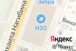Схема проезда до компании Вундеркиндер в Ростове-на-Дону