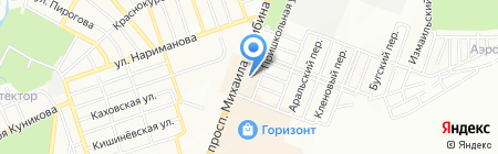 La Terazza на карте Ростова-на-Дону