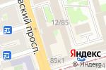 Схема проезда до компании Добропек в Ростове-на-Дону