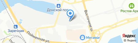 РостЛес на карте Ростова-на-Дону