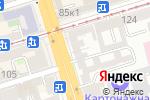 Схема проезда до компании MVA print в Ростове-на-Дону