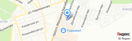 Р-Сервис на карте Ростова-на-Дону