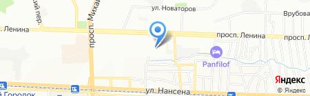 Детский сад №225 Репка на карте Ростова-на-Дону