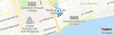 Спринт на карте Ростова-на-Дону