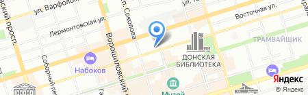Вкусно на карте Ростова-на-Дону