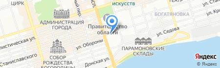 Ясмин на карте Ростова-на-Дону