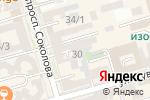 Схема проезда до компании Светилен в Ростове-на-Дону
