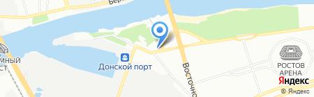 Левый Берег Дона на карте Ростова-на-Дону