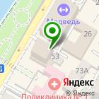 Местоположение компании Градтехпроект