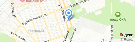 Монитор на карте Ростова-на-Дону