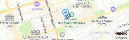 Социальное кафе №1 на карте Ростова-на-Дону