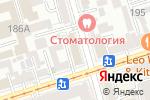 Схема проезда до компании Диалог в Ростове-на-Дону