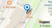 Компания Первый мобильный на карте