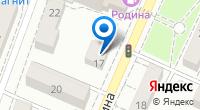 Компания CNI на карте