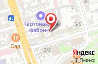 Схема проезда до компании Техно в Ростове-На-Дону