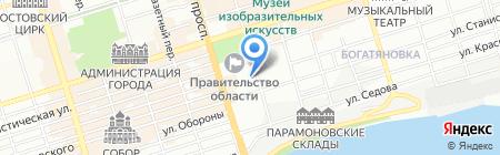 ЛУКОЙЛ-Ростовэнерго на карте Ростова-на-Дону