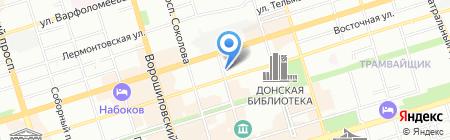 Наука на карте Ростова-на-Дону