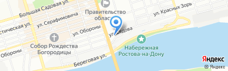 Южная Строительная Лаборатория на карте Ростова-на-Дону