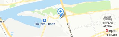 Техмаш-Дон на карте Ростова-на-Дону