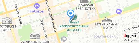 СК-Юг на карте Ростова-на-Дону