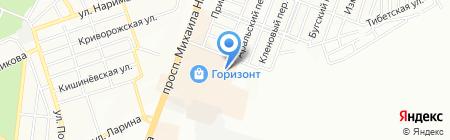 Гайд Парк на карте Ростова-на-Дону