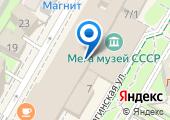 BarDuck lounge zone на карте