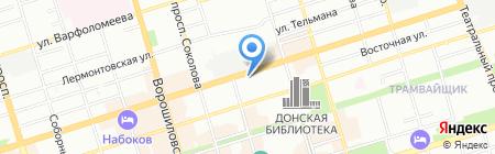 Мама Хуана на карте Ростова-на-Дону