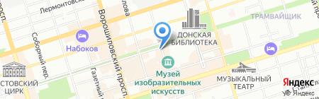 Классическая аптека на карте Ростова-на-Дону