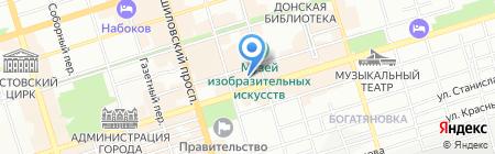 Детский сад №71 на карте Ростова-на-Дону