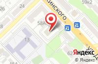 Схема проезда до компании Практика в Рязани
