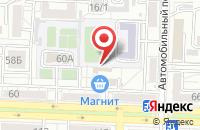 Схема проезда до компании Н.Белау в Ростове-На-Дону