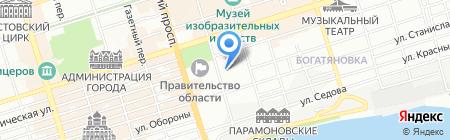 Конти-Рус на карте Ростова-на-Дону