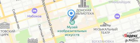 Онегин Дача на карте Ростова-на-Дону