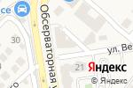 Схема проезда до компании Краски & Кисти в Верхнетемерницком