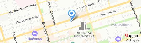 Клиника на карте Ростова-на-Дону