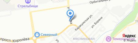 Исток на карте Ростова-на-Дону