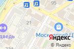 Схема проезда до компании Лоскут в Сочи